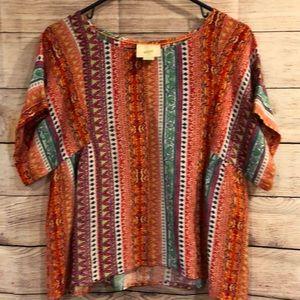 Anthropologie Maeve milla blouse